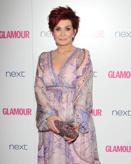 Sharon Osbourne Short Hairstyle
