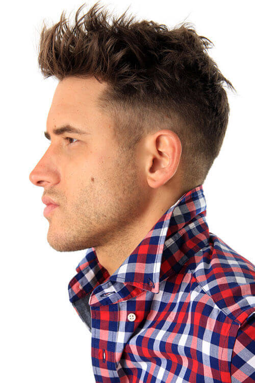 Dark warm brown hair color for men jpg