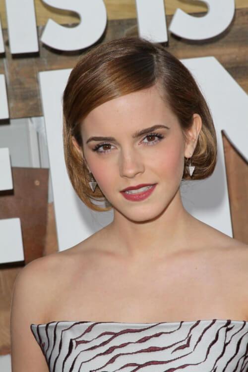 Emma Watson short faux bob