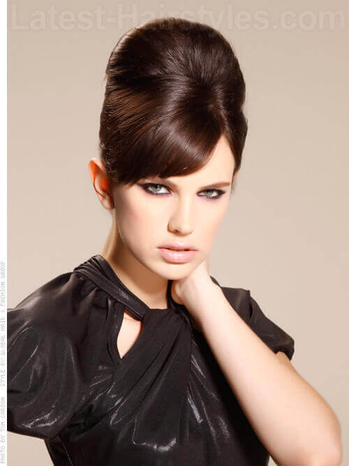 Faux Beehive Different Formal Updo with Volume