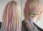 hair chalking