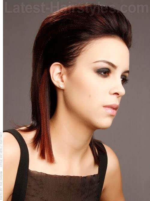 Different Hairstyles different braided hairstyle for women Slicked Back Medium Length Different Hairstyle