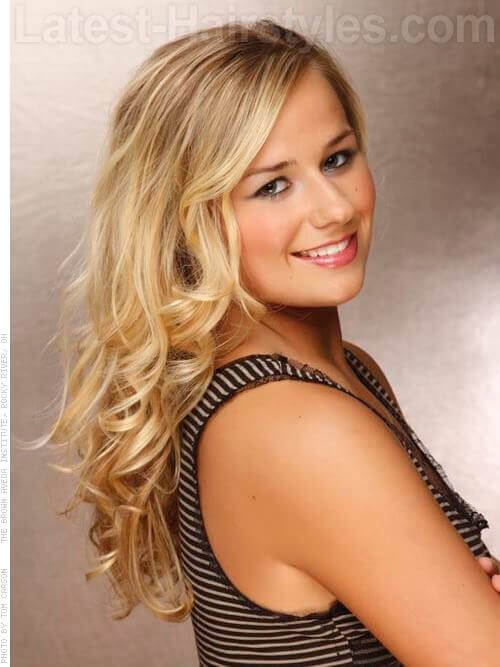 Always Classic Blonde Bombshell Flowing Waves