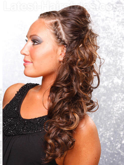Braided Headband Heartthrob Long Look With Front Braids Loose Waves