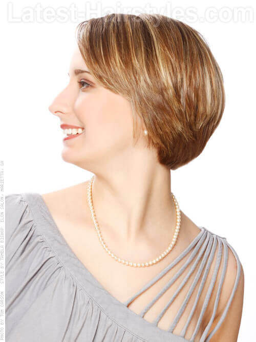 Layered Short Haircut for Women