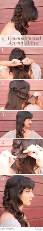 Deconstructed Accent Braid Tutorial