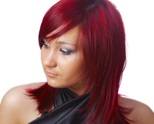 Bright Cherry Haircolor