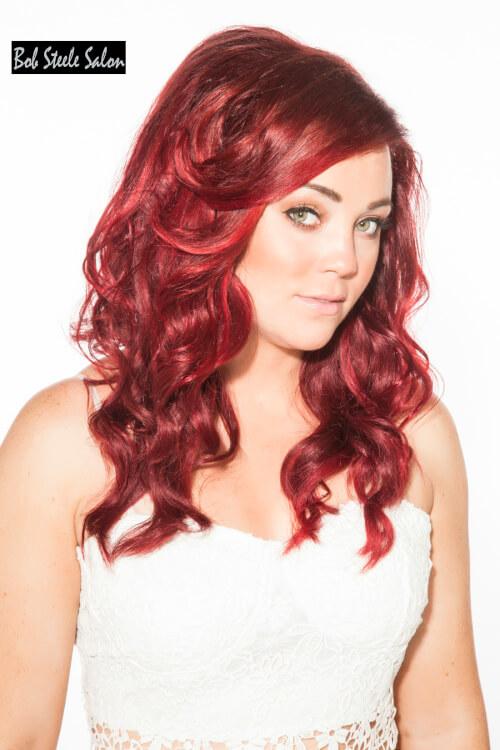 Decadent Burgundy Hair Color