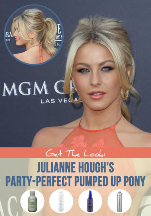 Julianne Hough Hair Ponytail