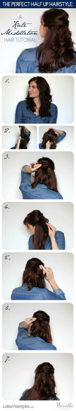 Kate Middleton Hair Tutorial