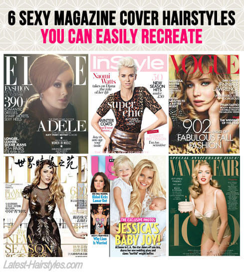 Magazine Cover Hairstyles