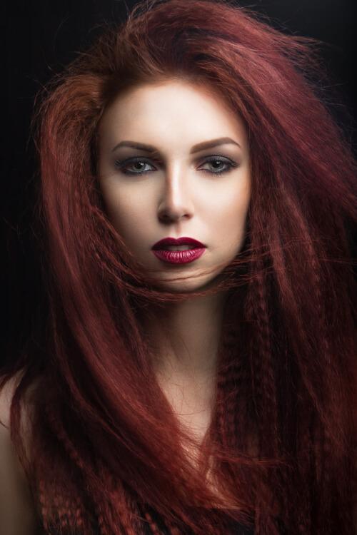 Merlot Inspired Haircolor