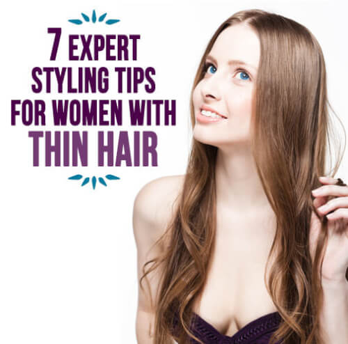 Best hairstyles for thin hair