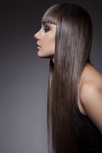 Cashmere Velvety Hue Long Straight Hair