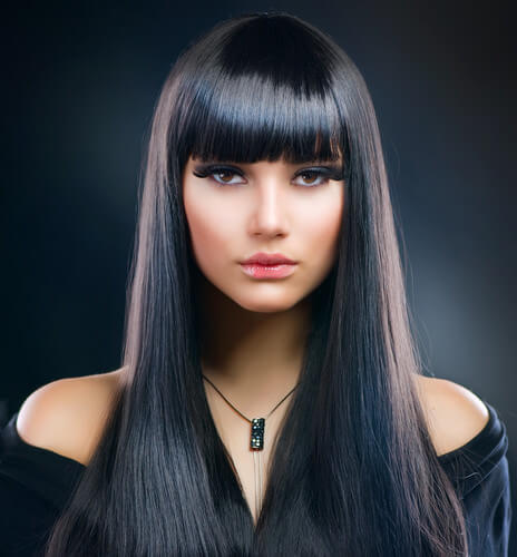 Charcoal Dark Multi Hue Hair Color