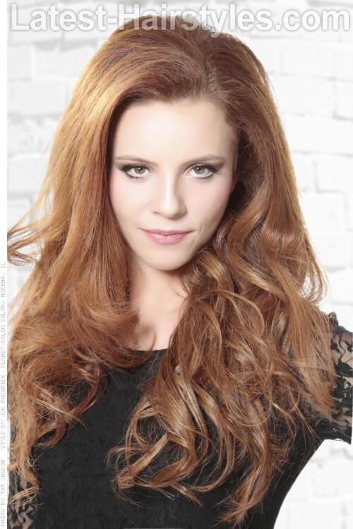 Copper Blonde Haircolor
