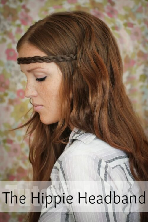 Hippie Braid Three Strand Headband