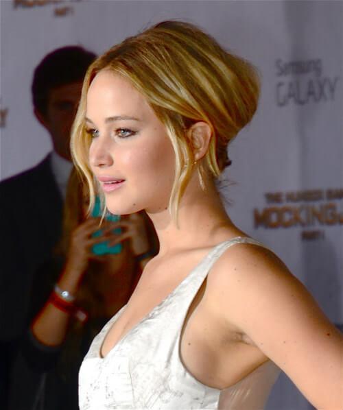 Jennifer Lawrence Modern French Twist