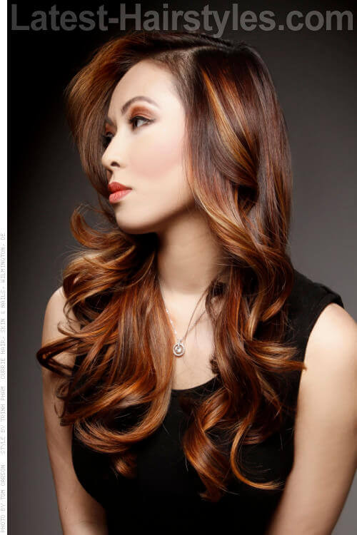 Pleasant Cozy Up To These 31 Elegant Long Hairstyles For Winter Hairstyle Inspiration Daily Dogsangcom