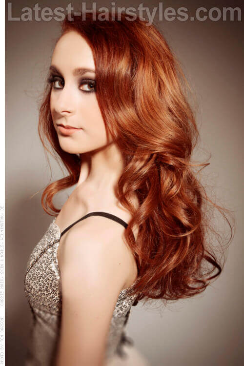 Long Hairstyle with Volume
