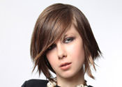 Short Bob Hairstyle with Shattered Pieces