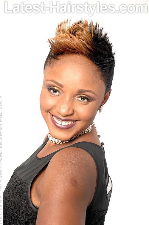 54 Easy Short Hairstyles For Black Women