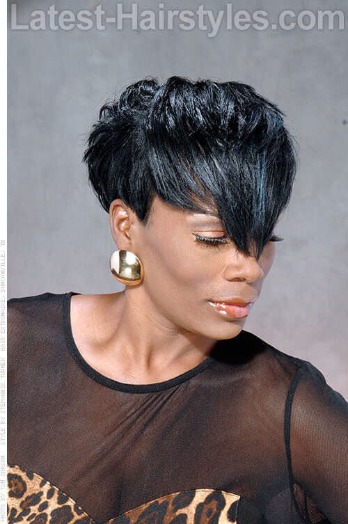 Short Hairstyle with Angles