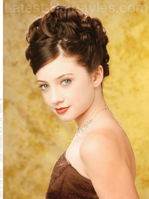 winter formal hair styles 20 totally easy teen hairstyles to recreate this winter 9531