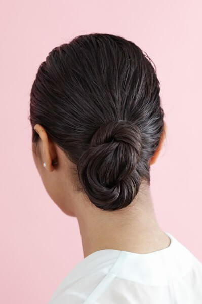 Low Figure 8 Bun Hairstyles