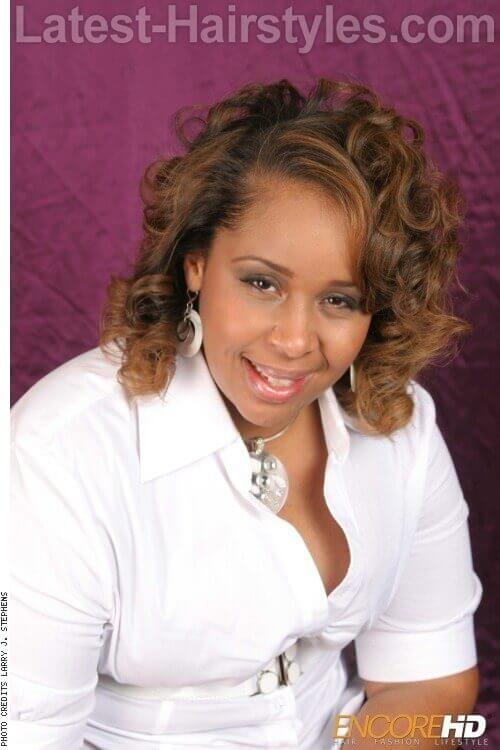 Outstanding 20 Effortlessly Chic Medium Length Wavy Hairstyles Short Hairstyles For Black Women Fulllsitofus