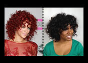 Rihanna Curls Hair Tutorial