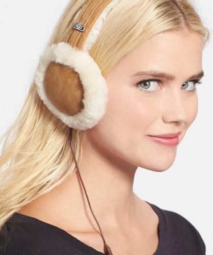 Ugg Australia Genuine Shearling Headphone Earmuffs