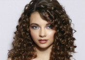 Curly Hairstyles for Winter