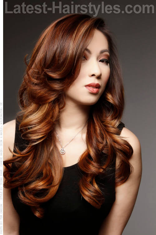 Day To Night Voluminous Waves Hairstyle