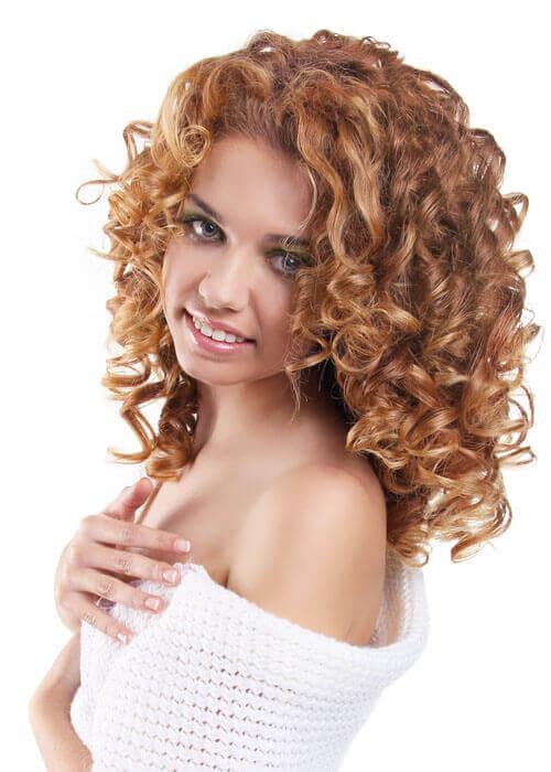Medium Layered Hairstyle with Body