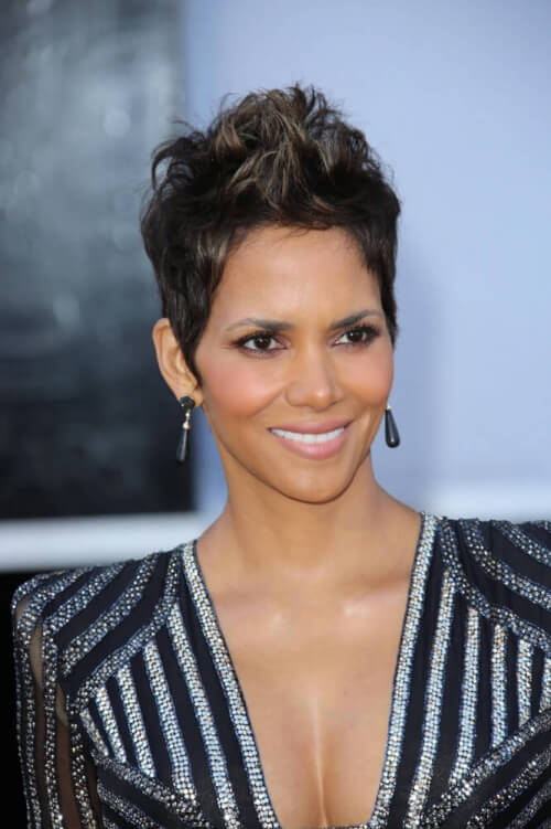 Halle Berry celebrity hairstyles