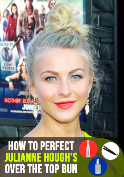 Top Knot Julianne Hough Hair Tutorial