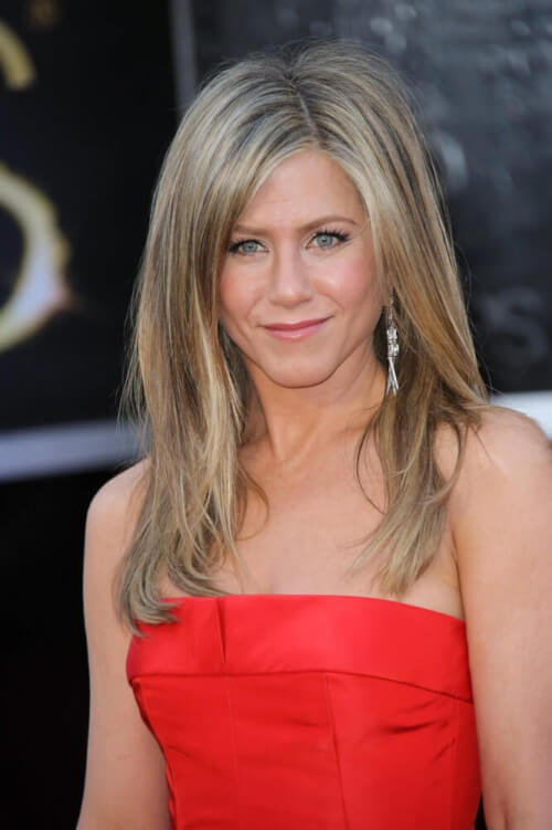 Jennifer Aniston celebrity hairstyles