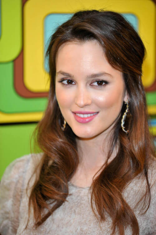 Leighton Meester celebrity hairstyles