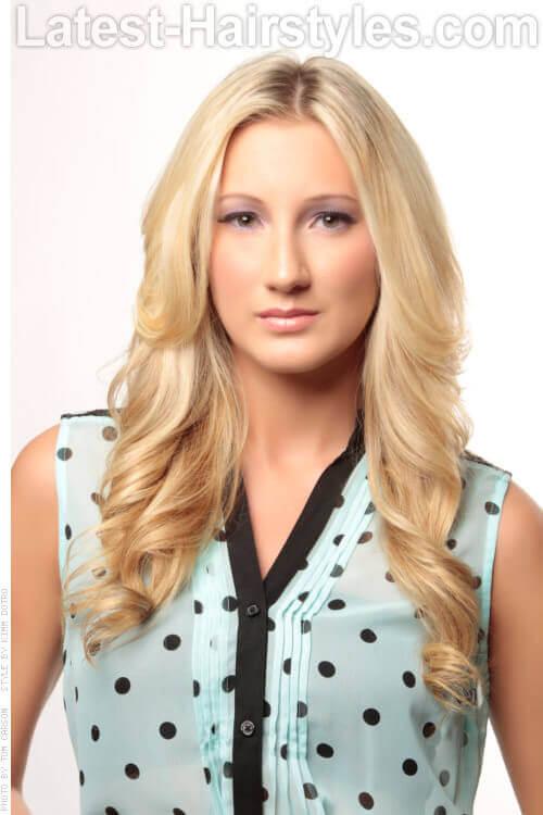 Long Blonde Soft Modern Hairstyle