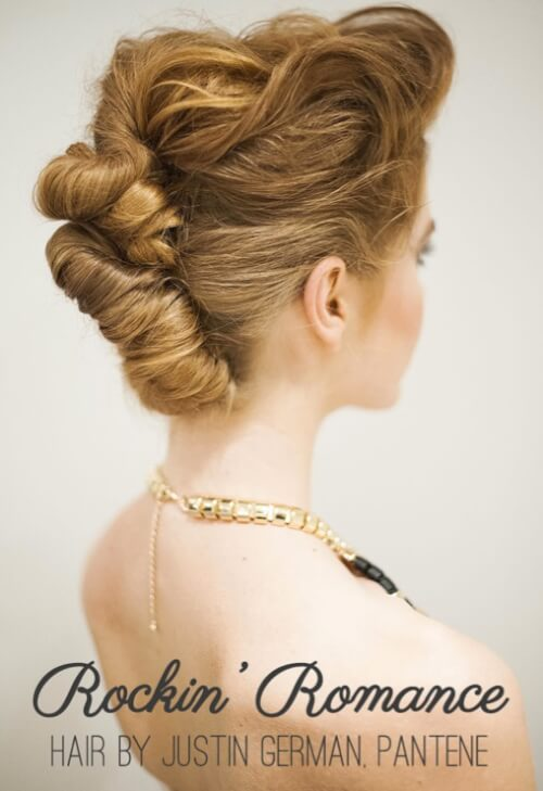 Paris Hilton Grammy Hair Tutorial