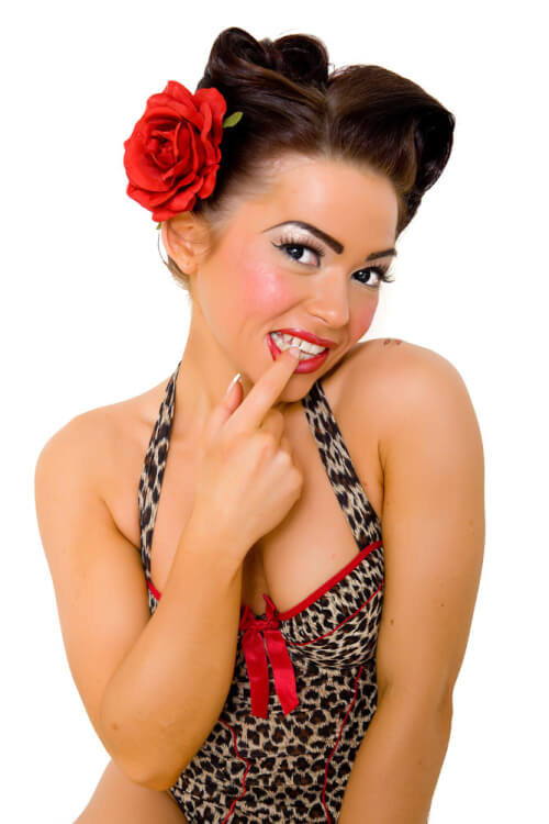 vintage hair up styles 41 pin up hairstyles that scream quot retro chic quot tutorials 6785