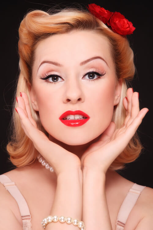 "Hair Style Pin Up 41 Pin Up Hairstyles That Scream ""retro Chic"" Tutorials Included"