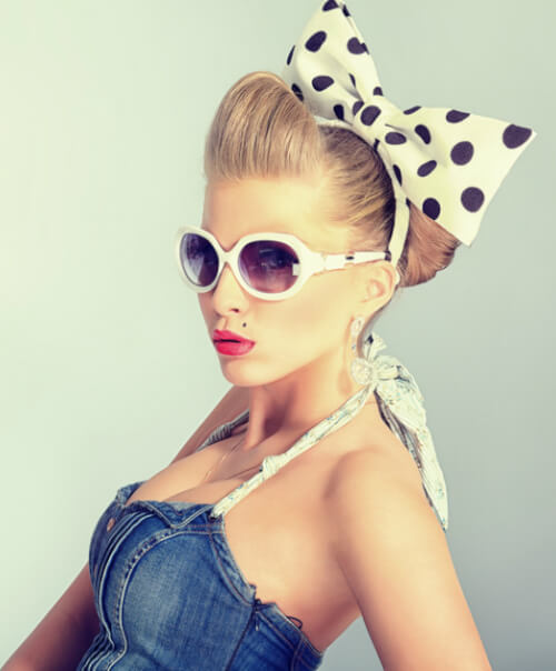42 Pin Up Hairstyles That Scream \