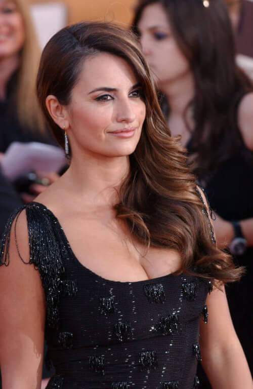 Penelope Cruz celebrity hairstyles