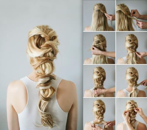 Romantic Twisted Braids