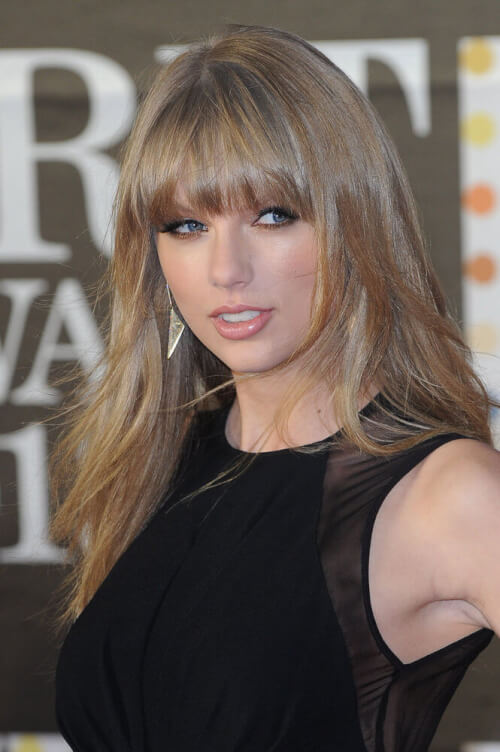 Taylor Swift celebrity hairstyles