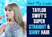 Taylor Swift Straight Hair Tutorial