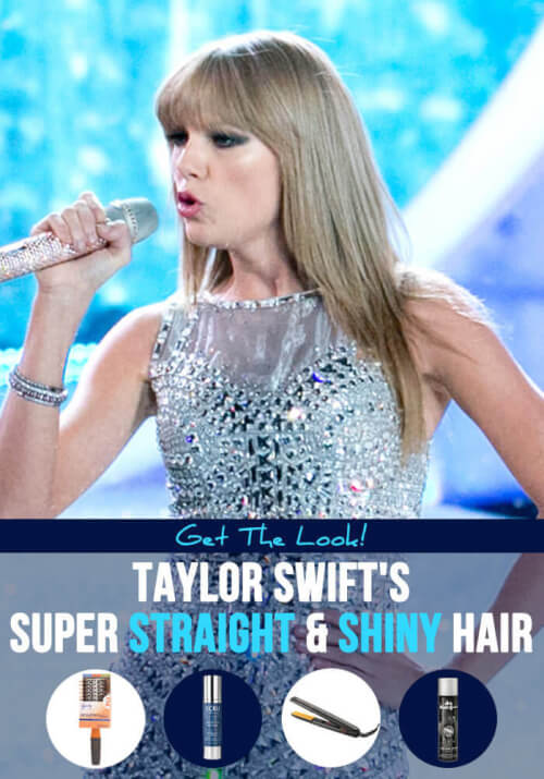Taylor Swift Straight Hair Tutorial