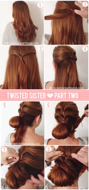 Updated Twisted Sister Date Night Hairstyle